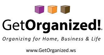 Click to Download Hi-Res Get Organized! Logo
